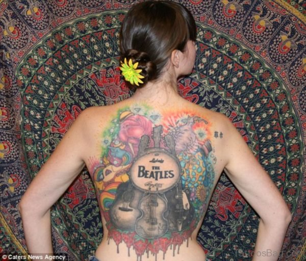 Alluring Back Tattoos For Boy's And Girls 46