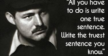 Ernest Hemingway Quotes 01