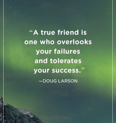 Motivational Success Quotes images a true friend is one who overlooks