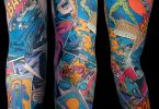 Comic Tattoos