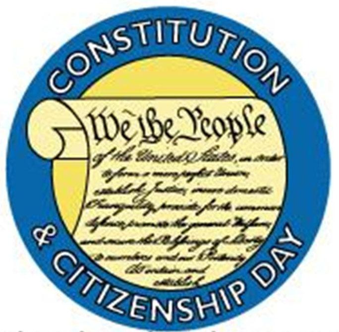 Constitution & Citizenship Day Photos