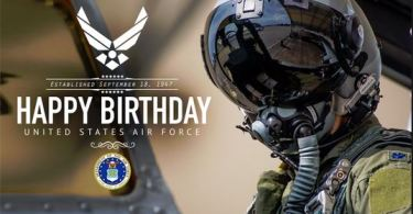 U.S Air Force Birthday Wishes