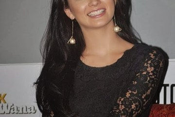 amy jackson in black (4)