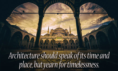 Architecture Quotes architecture should speak of its time and