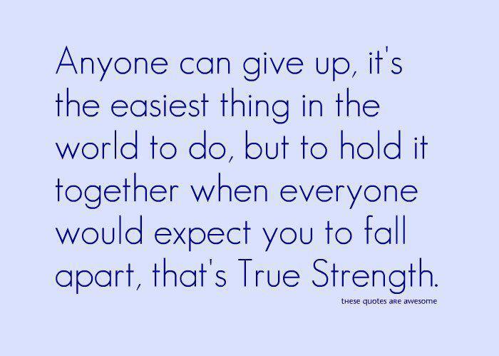 Wisdom Strength Quotes