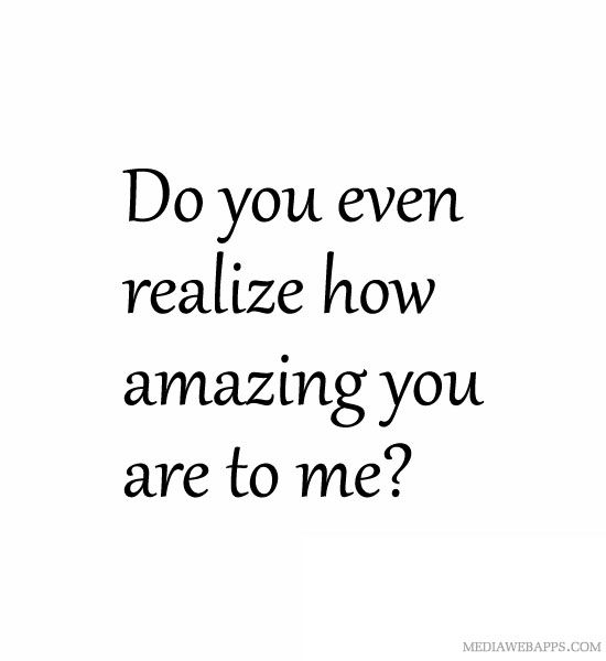 You Re So Special To Me Quotes