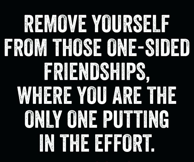 One Sided Friendships Quotes 0112