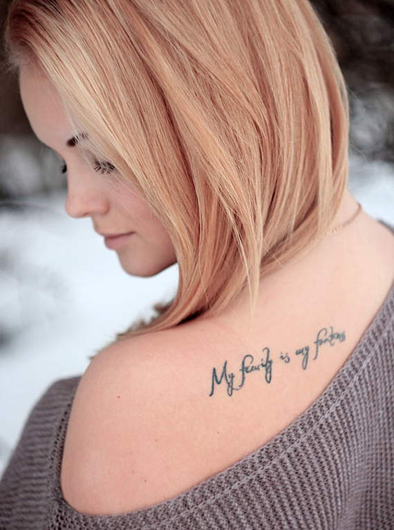 Short Family Quote Tattoos 0112