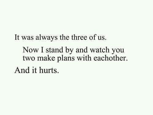 sad third wheel quotes 0101