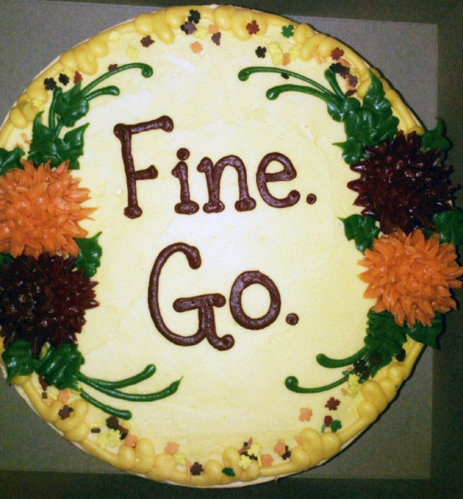 Going Away Cake Quotes 0105