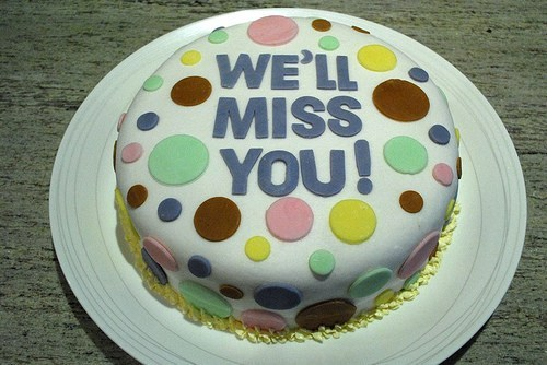 Going Away Cake Quotes 0116