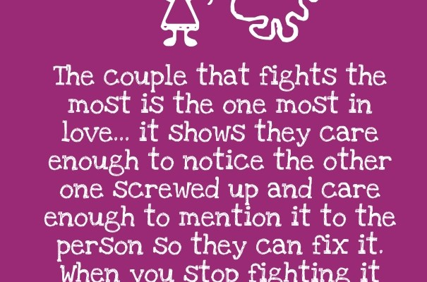 Quotes About Fighting In A Relationship