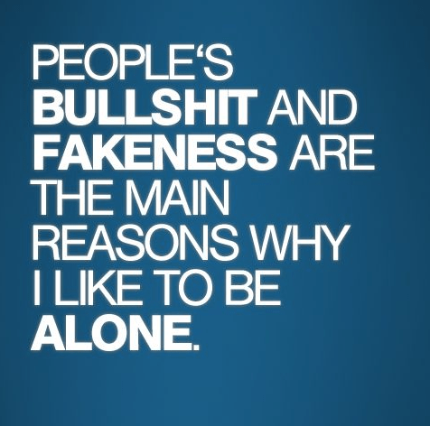 Fake People Quotes People's bullshit and fakeness are the main