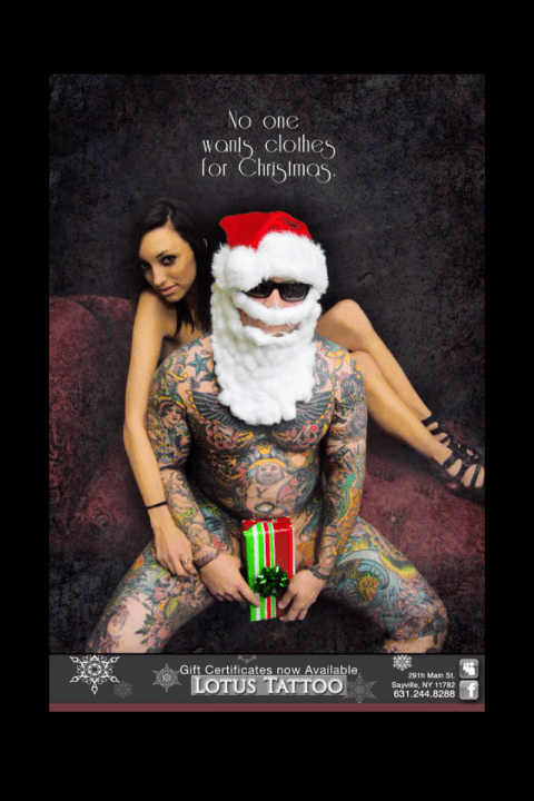 Merry Christmas Tattoos 10