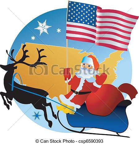 USA Merry Christmas 11