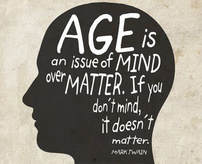 Age Is An Issue Of Mind Over Matter.If You Dont Mind It Doesnt Matter National Senior Citizen Day Wishes