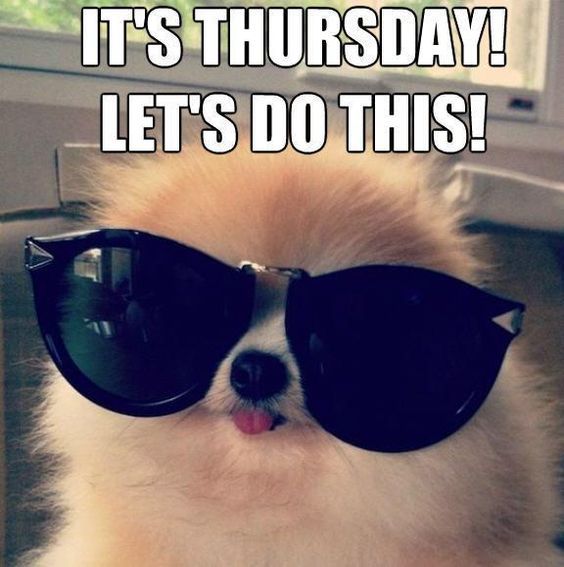 Attractive Thursday meme it's Thursday letp's do this!