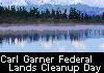 Awesome Carl Garner Federal Lands Cleanup Day PIc
