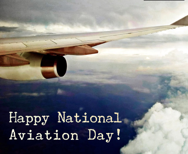 Happy National Aviation Day Wishes For Instagram