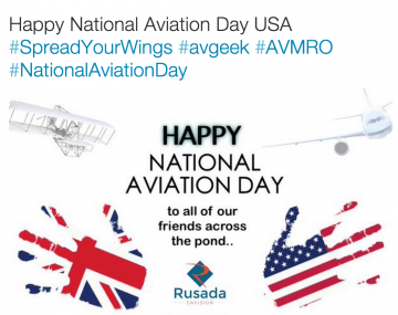 Happy National aviation Day Usa