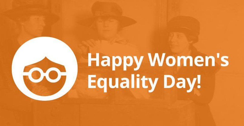 Happy Women's equality Day With Three