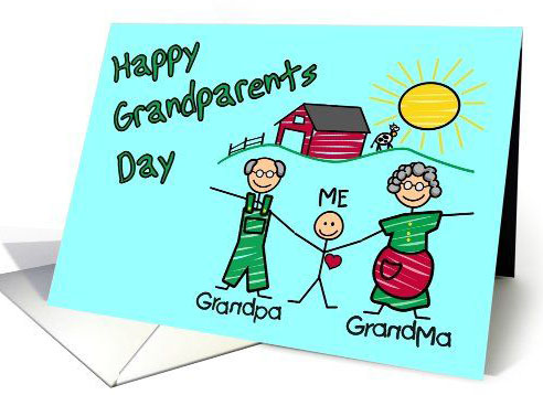 Happy grandparents DAy Grandpa grandma