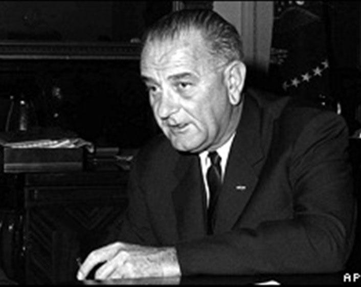 Lyndon Baines johnson day Greetings