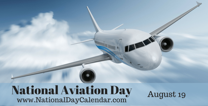 National Aviation Day With Beautiful Sky View