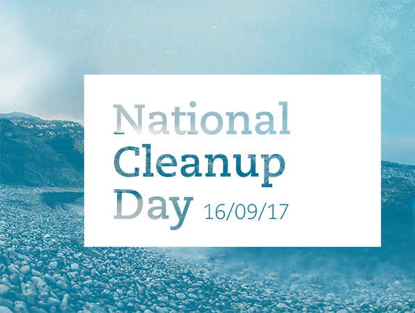 National Cleanup Day 19 september 2017