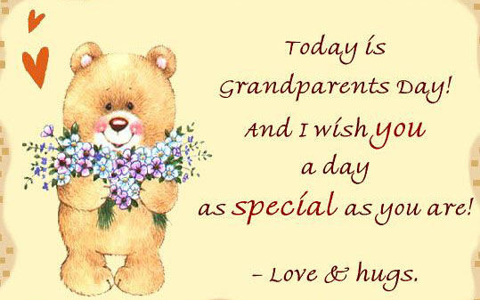Today is Grandparents day and i