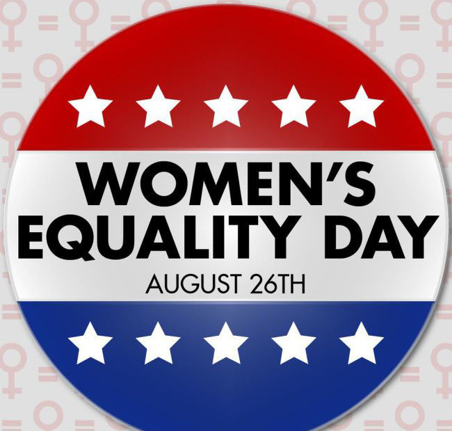 Women's Equality Day August 26th With Star