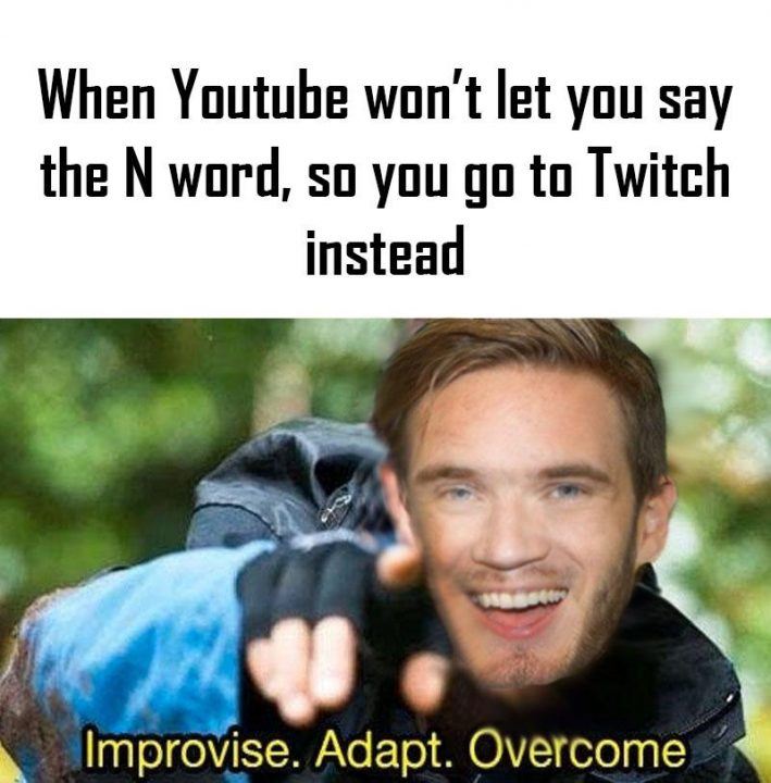 clean dank memes when youtube won't let you say the n word, so you go to twitch instead