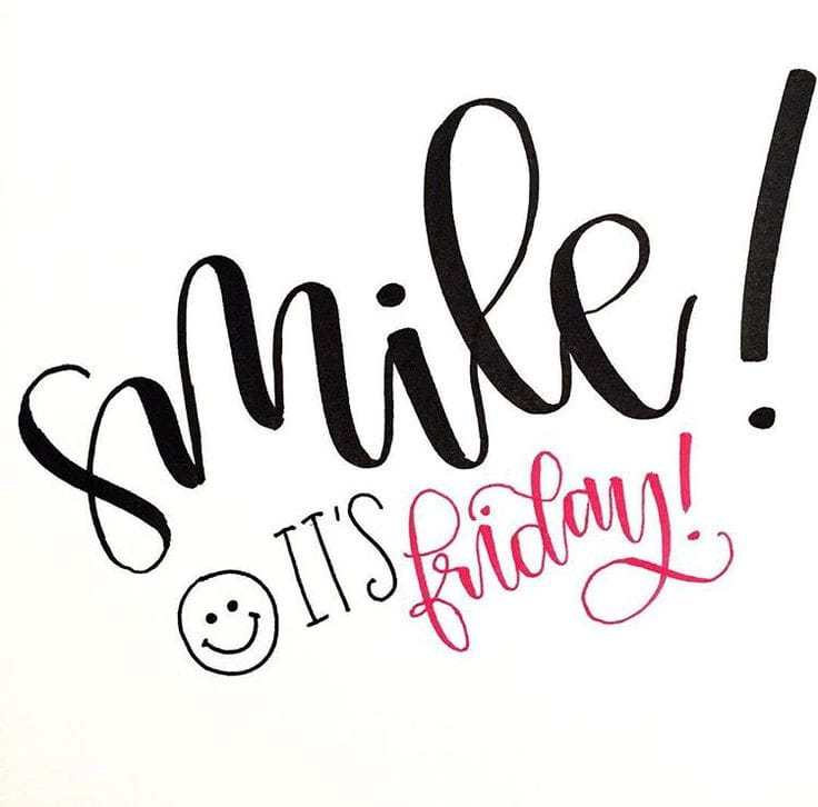 its friday quotes smile ! it's friday