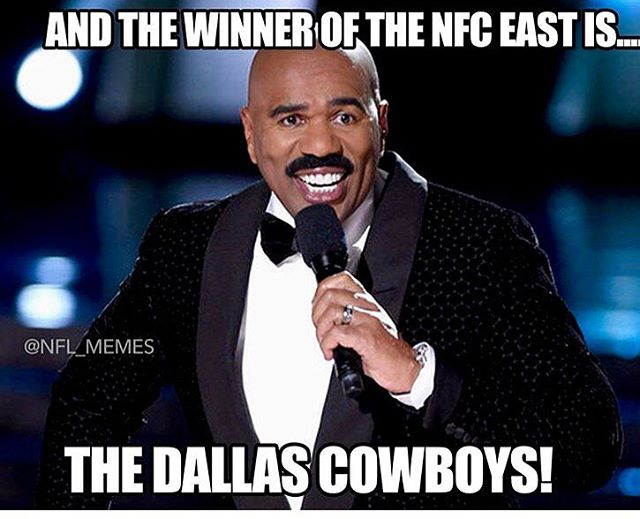 Cowboys Memes And The Winner Of The NFC East Is.. The Dallas Cowboys!