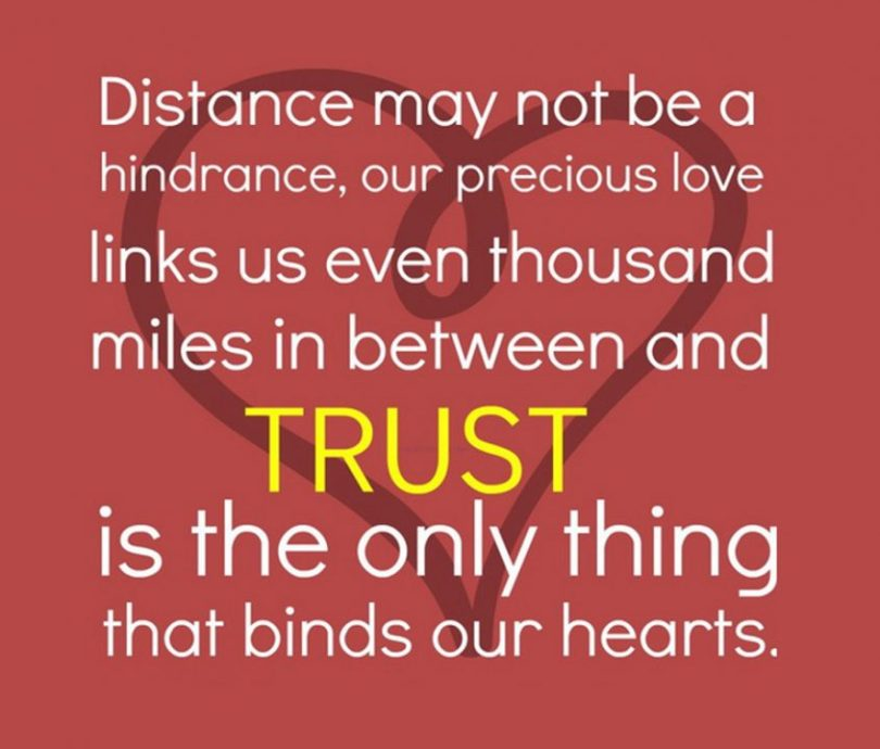 Distance May Not Be A Hindrance, Our Precious