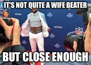Ezekiel Elliott Meme It's Not Quite A Wife Beater But Close Enough