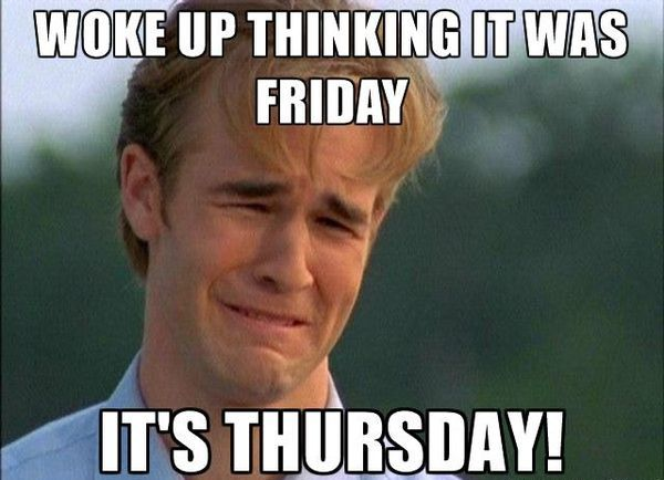 Great Thursday Memes With a Weeping Man