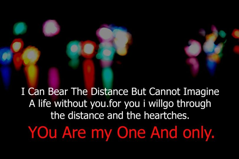 I Can Beat The Distance But Cannot Imagine