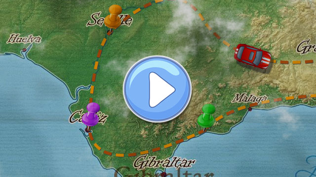 Animated Travel Maps   created with PictraMap PictraMap Animation Thumbnail