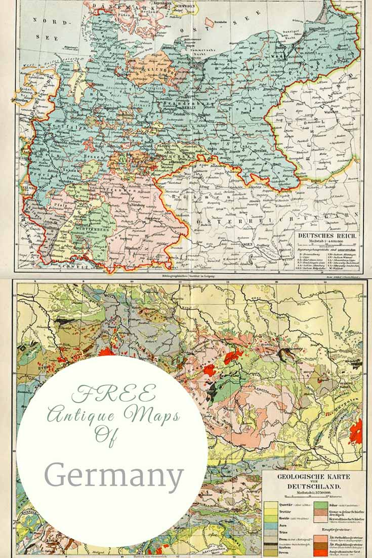 FREE Old Maps of Germany