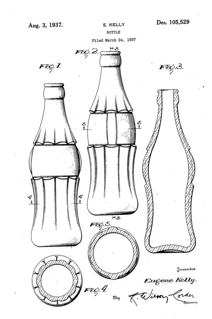 Coke style bottle 1937