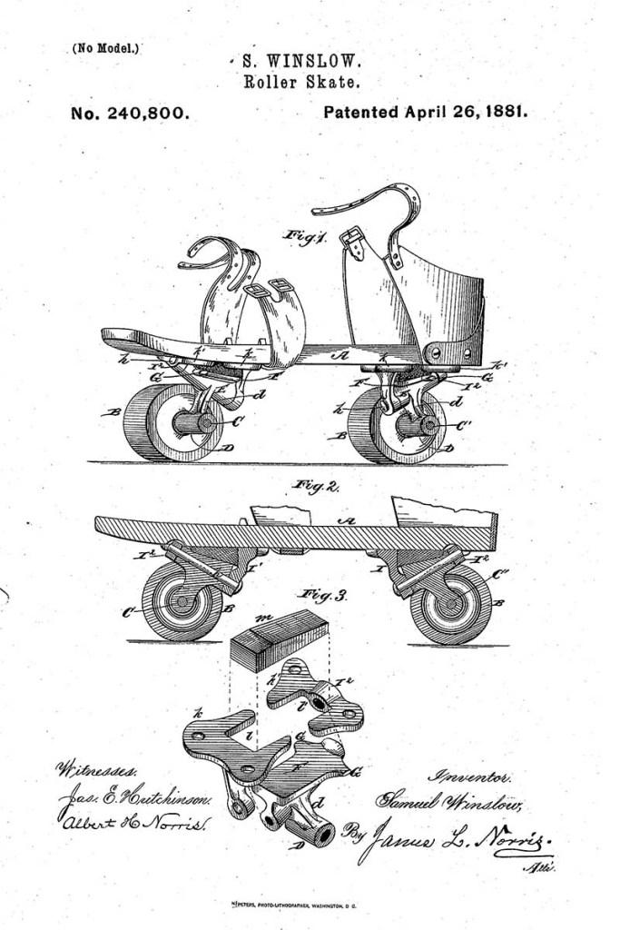 Roller Skates blueprint