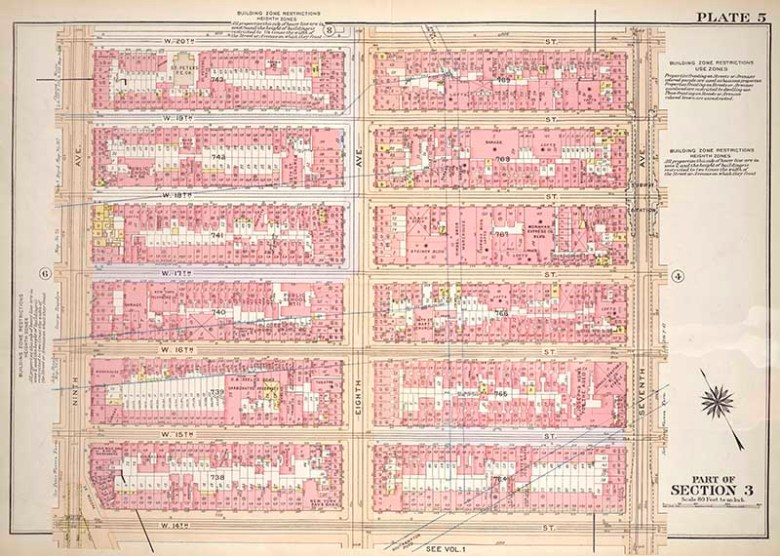 Bromley  Manhattan Map