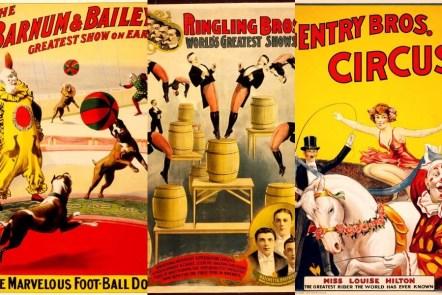 vintage circus posters free printable