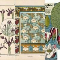 Beautiful Free Art Nouveau Flower Prints To Download