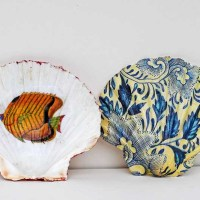 How To Make A Beautiful Decoupage Shell Dish