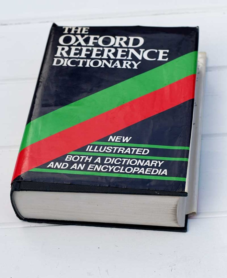 old dictionary