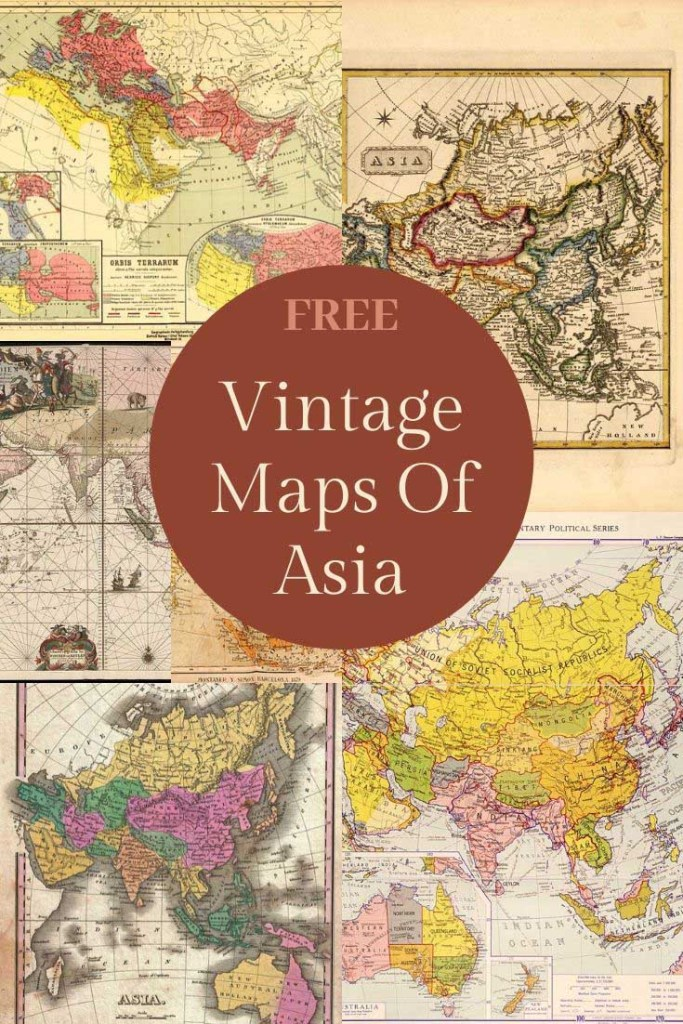 Old Maps of Asia