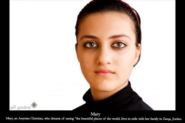 Assyrian Christians Exiled in Jordan