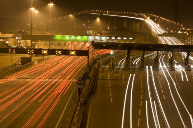 traffic long exposure